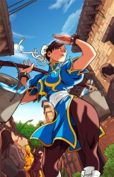Chun Li Colored by edwinhuang