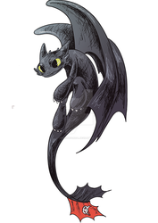 HTTYD - Toothless by jedwithcereal