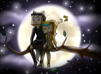Com: Romantic night by Darucha