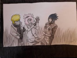 New Sanin trio finished  by SicaChii