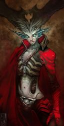 Demoness02ms6 by manuhell