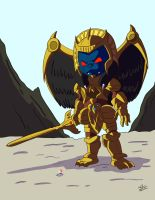Goldar by NoDiceMike