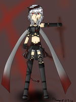 Surell,The Twin Swordswoman by FFGunner14