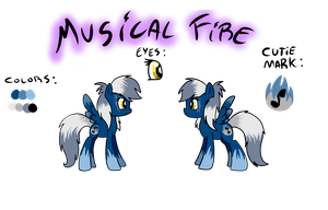Musical Fire - Contest entry by LeaOla