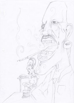 JAZZ CLUB SMOKER  unfinished by SilanceAndSolace