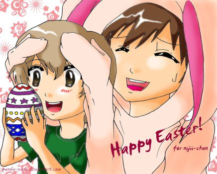 Belated Easter Request KHR by panda-nana