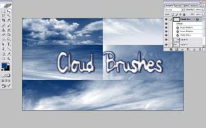 Cloud Brushes by lenavvargo