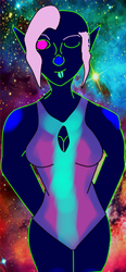 Bioluminest Girl by Artemis-Dragunus