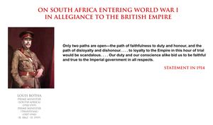 Louis Botha - South Africa and World War I by YamaLama1986
