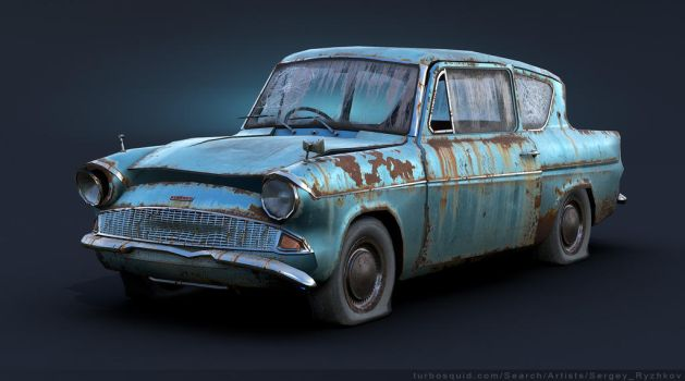 Ford Anglia 105E Rusty by Sergey-Ryzhkov