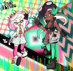 Off the Hook - Pearl and Marina by Kamira-Exe