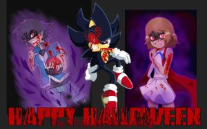 HAPPY HALLOWEEN FOR TEAM BLOOD SLAYERS!  by TrainboysArtwork