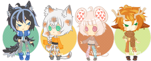 Set price Adopt 03 [Open] + Extra by WanWan-lee