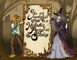 Halloween Invitation by jackieocean
