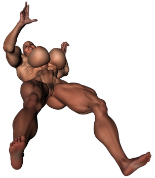 Stock-290lb-6ft6in-20bi-Warrior-P04-A09-Battle27 by ShadowRx
