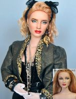 Doll Repaint of 1980s Madonna by noeling
