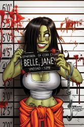 Zombie Tramp #26 Cover C by BillMcKay