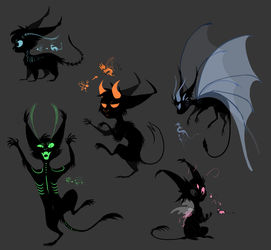 shadow cats by xDorchester
