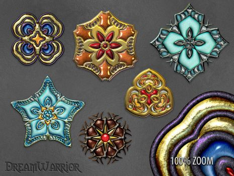 JewelOrnaments PNG Premium Pack by DreamWarrior