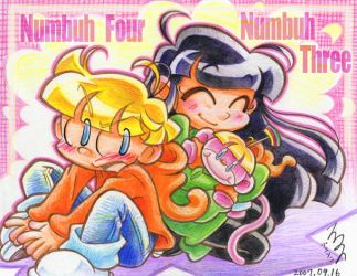 Numbuh Four and Numbuh Three by Re3andScotty