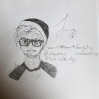 Sketch Jacksepticeye by KasumiTheV