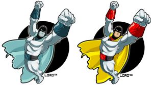 Space Ghost by lordmesa