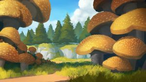 Mushrooms by TomPrante