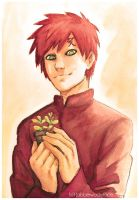 Happy Birthday, Gaara! 2018 by Jabberwockyface