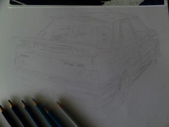 Peugeot GTI 309 WIP 1 - close-up 2 by VelvetVamp