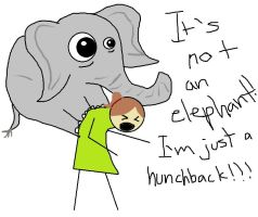 There Is No Elephant by c10brook