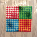 plaid textures (Perler) by crazycreeper529