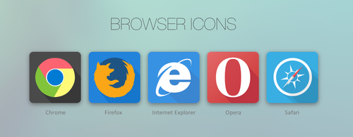 Browser Icons by leoaw