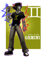 You Are Gemini by chickenMASK