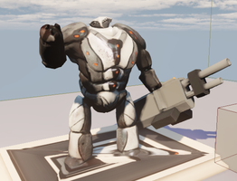 Heavy Combat bot in UDK by HenryBiscuitfist