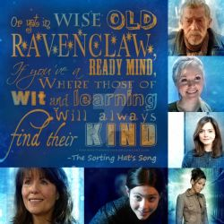 Doctor Who Ravenclaw by PinkiePieTheWhovian