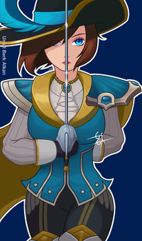 Commission! Royal Guard Fiora by InkSen