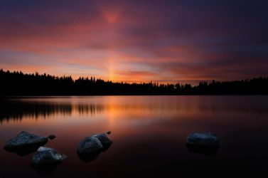 An incredible sunset by Toinant