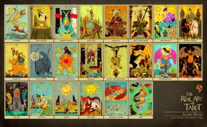 Tarot Nusantara Arcana Mayor by transbonja