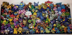 Epic All Gens Pokemon 3rd Row Done! by samarin6