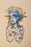 Washi Thorn by twitchycreedles