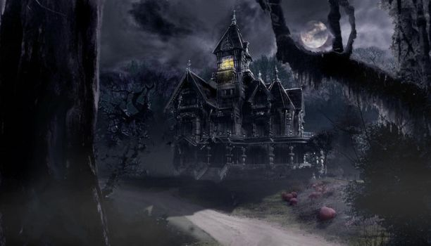 The Haunted House by croonstreet