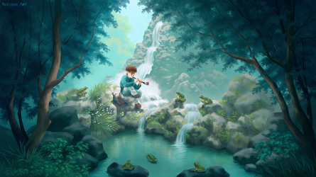 Serenade of the Source by Aliciane