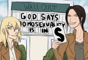 Homosexuality Is In by wiing-it