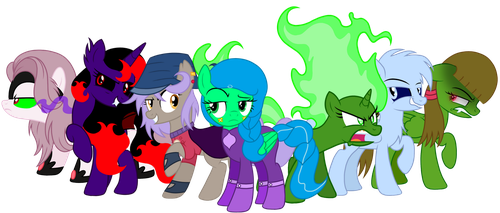 The Elements of The Spirits (Evil Counterparts) by KimmyArtMLP