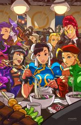 Street Fighter/UDON by edwinhuang