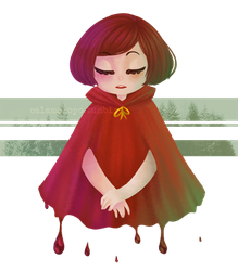Little dead riding hood by Masqueraderrr