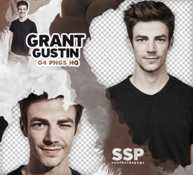Png Pack 3828 - Grant Gustin by southsidepngs