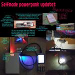 Device build 11.000mAh Powerabnk with light by marderchen