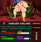 Champions of Earth: Chelsey Collins -- Player Card by JAKO-BAY