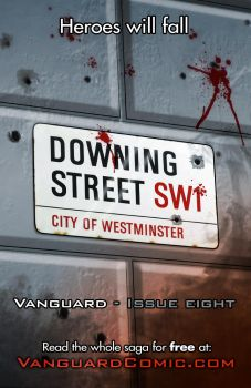 Vanguard issue eight promo by MrHades